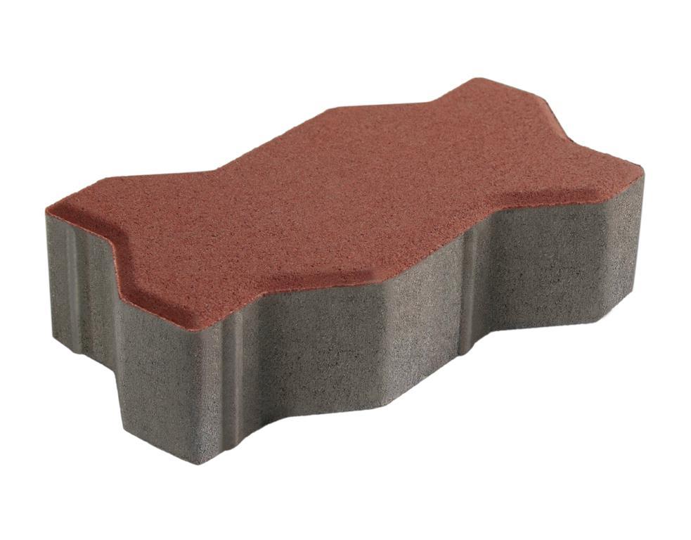 บล็อกปูพื้น เอสซีจี รุ่นคดกริช ขนาด 11.25 x22.5 x 6 ซม. สีเทา - SCG  Building Materials